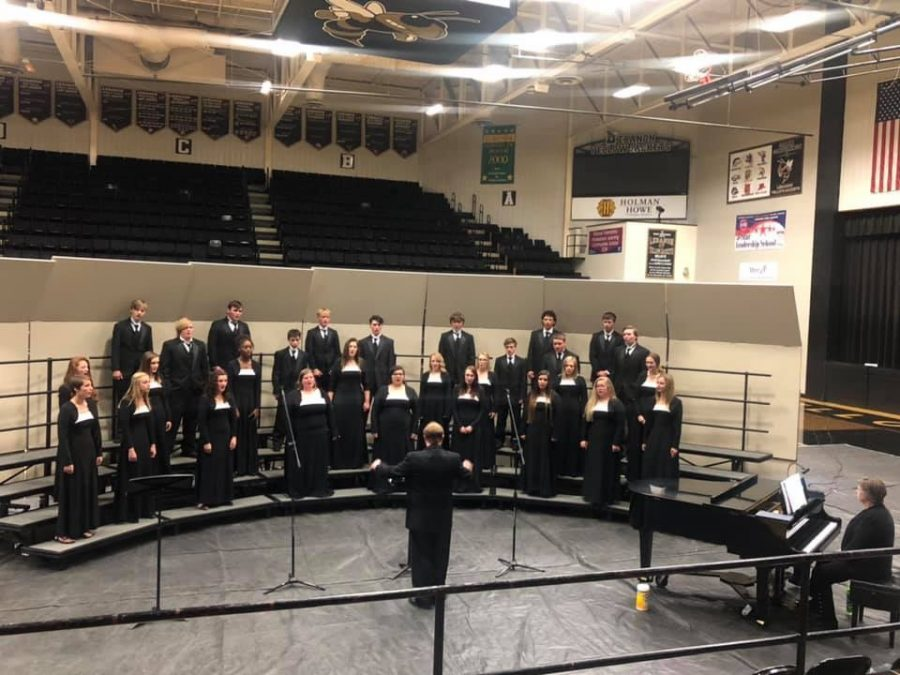 Chamber Choir put in lots of time and effort for this moment. Even though they still made mistakes, they tried their best and that's what counts.