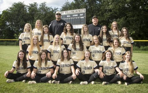 This years Lebanon High School softball team. Including three seniors, three juniors, six sophomores, and seven freshman.
