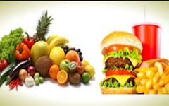 Food; healthy vs junk