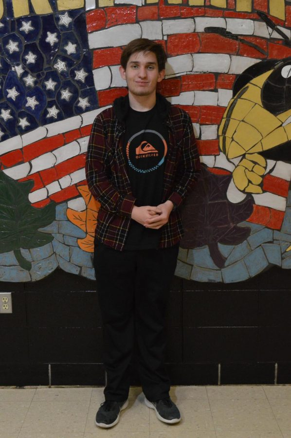 Thomas Cleveland is a senior in science olympiad who is doing multiple events. He was a member of this club last year.