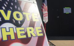 Voters are greeted with patriotic symbols everywhere they turn. As patriotism is celebrated, what isn't is advertisement for a certain candidate. Law dictates that no propaganda could displayed within 25 ft of a polling place. If you do, you could be asked to leave or to get rid of it.